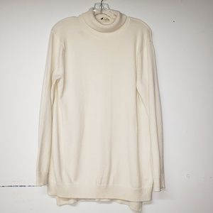 Gap Turtleneck Ivory Sweater Large